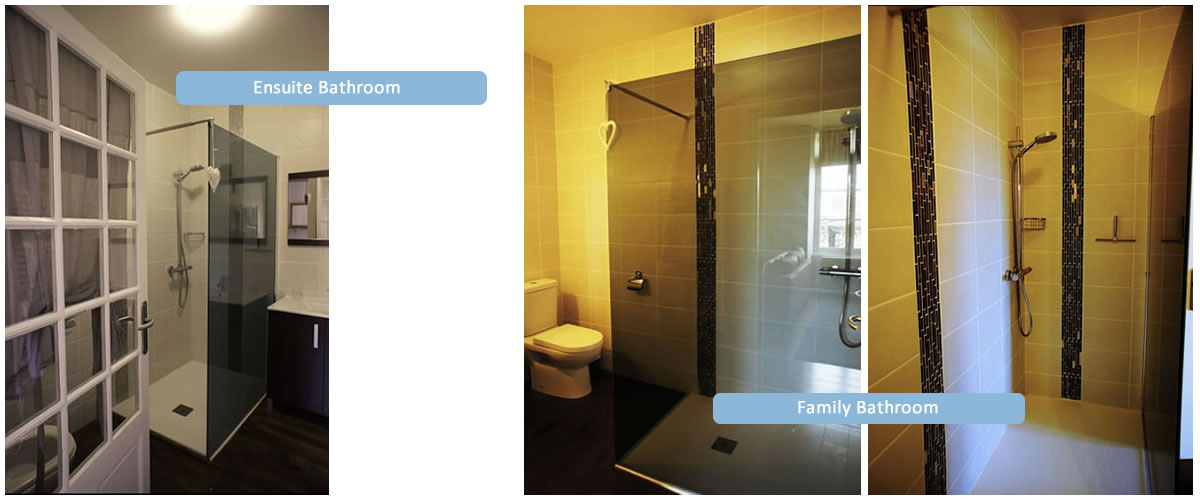 Two Bedroom Apartment Bathrooms
